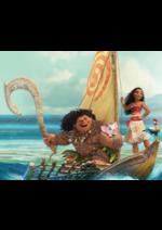 Promos et remises  : Sélection pour la sortie au cinéma de Vaiana le 30 Novembre