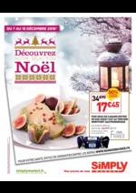 Prospectus Simply Market : Découvrez notre sélection Noël