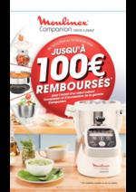 Promos et remises  : Moulinex jusqu'à 100€ remboursés