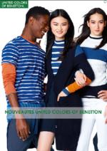 Promos et remises  : Nouveautés United Colors of Benetton