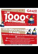 Prospectus Géant Casino : Vos réductions de Noël