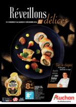 Prospectus Auchan : Réveillons et délices