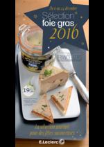 Prospectus E.Leclerc : Sélection foie gras 2016