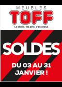 Promos et remises Meubles Toff : Soldes, venez en profiter !