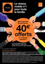 Promos et remises  : Le réseau mobile numéro 1 pour la famille