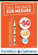 Prospectus Carrefour : Des promos sur mesure