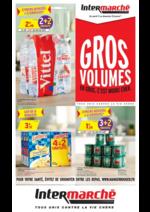 Prospectus Intermarché Hyper : Gros volume : en gros, c'est moins cher !