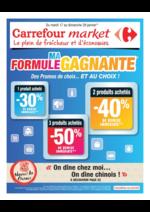 Prospectus Carrefour Market : Ma formule gagnante