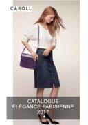 Catalogues et collections caroll Paris 64 BOULEVARD HAUSSMANN 4EME ETAGE : Lookbook Élégance Parisienne