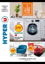 Prospectus Hyper U : La maison du bon vivre