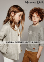 Catalogues et collections Massimo Dutti : Natural Softness - Boys & Girls