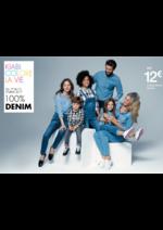 Catalogues et collections Kiabi : 100% Denim