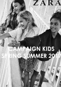 Catálogos y colecciones ZARA Alcorcón : Campaign Kids Spring Summer 2017