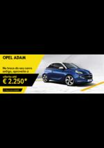 Promoções e descontos Opel : Opel ADAM  aproveite a oferta até 2250€*