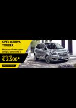 Promoções e descontos Opel : Opel Meriva aproveite a oferta até 3500€*