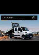 Promos et remises  : Opel Movano utilitaire