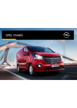 Catalogues et collections opel : Opel Vivaro