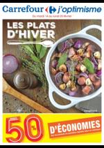 Prospectus Carrefour : Les plats d'hiver