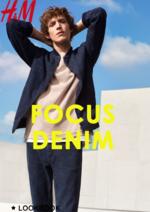 Catalogues et collections H&M : Lookbook homme Focus denim
