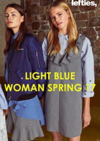 Catálogos e Coleções Lefties Matosinhos Mar Shopping : Light Blue - woman Spring 17