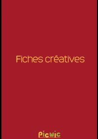 Prospectus Picwic STE GENEVIÈVE DES BOIS : Fiches créatives