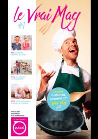 Journaux et magazines Pulsat Draveil : Le Vrai Mag #1