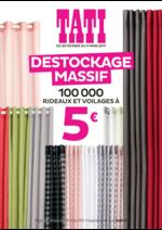 Prospectus Tati : Destockage Massif