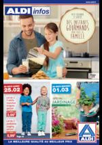 Prospectus Aldi : Des instants gourmands pour toute la famille