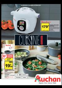 Prospectus Auchan Val d'Europe Marne-la-Vallée : Cuisine gourmande