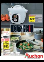 Prospectus Auchan : Cuisine gourmande