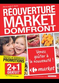 Prospectus Market ASNIERES SUR SEINE : Réouverture market Domfront