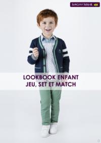 Catalogues et collections Sergent Major AMIENS : Lookbook enfant Jeu, Set et Match