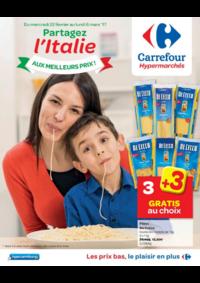 Prospectus Carrefour AUDERGHEM / OUDERGHEM : Partagez l'Italie aux meilleurs prix !