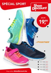Prospectus Shoe Discount HALLE : Spécial sport