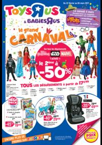 Prospectus Toys R Us AULNAY SOUS BOIS : Le grand CARNAVAL