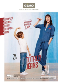 Prospectus Gemo LOCHES : Totally jeans