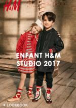 Catalogues et collections H&M : Lookbook enfant H&M Studio 2017