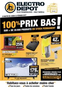 Prospectus ELECTRO DEPOT BRIE COMTE ROBERT : 100% prix bas !
