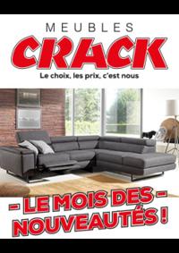 Prospectus Meubles Crack : Le mois des nouveautés
