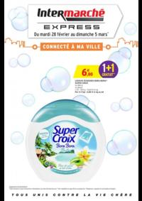 Prospectus Intermarché Express PARIS Charenton : Connecté à ma ville