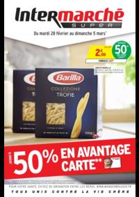 Prospectus Intermarché Super Argenteuil 7 rue du 8 Mai 1945 : Jusqu'à 50% en avantage carte