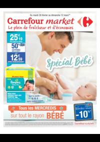 Prospectus Market CROISSY SUR SEINE : Spécial bébé
