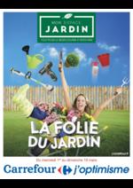 Prospectus Carrefour : La folie du jardin