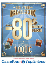 Prospectus Carrefour GENNEVILLIERS : Les hyper chanceux