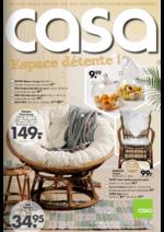 Prospectus Casa : Espace détente !