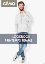 Catalogues et collections Gemo : Lookbook printemps homme