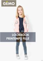 Catalogues et collections Gemo : Lookbook printemps fille