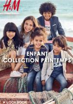 Promos et remises  : Lookbook enfant collection Printemps