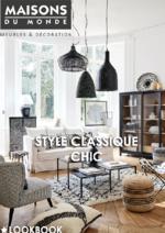 Catalogues et collections Maisons du Monde : Style Classique chic