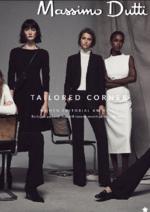 Promos et remises  : Lookbook Tailored Corner